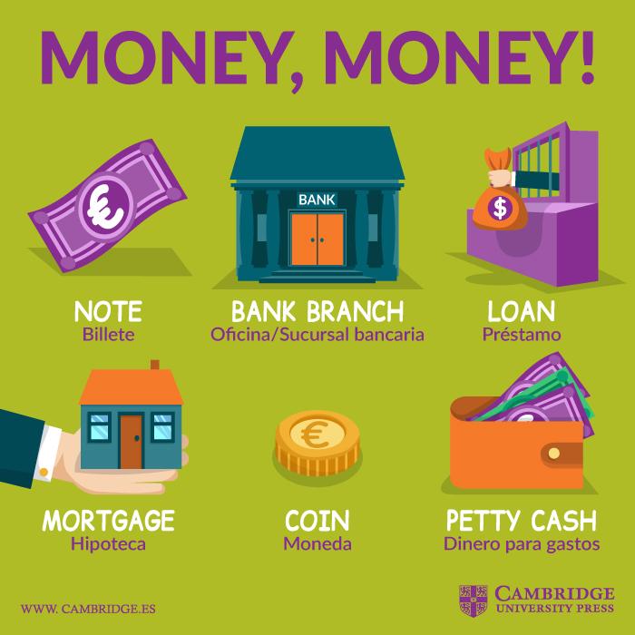 dinero Inglés